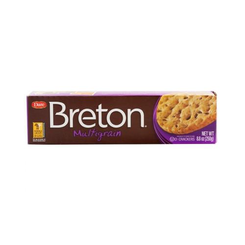 Breton Multigrain Crackers 12/8.8oz