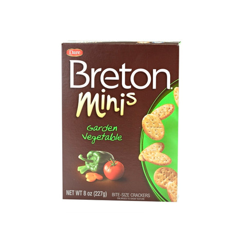 Breton Garden Vegetable Minis 12/8oz