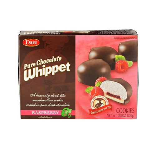 12/8.8oz Whippet Raspberry Cookies