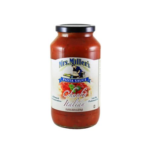 6/25.5oz Pasta Sauce Chunky Italian