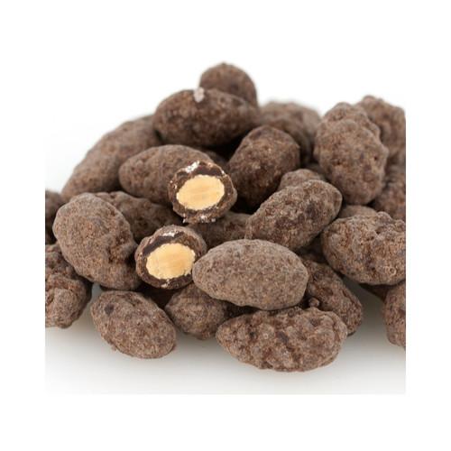 15lb Dark Chocolate Turbinado Almonds