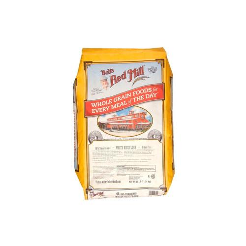 Gluten Free White Rice Flour 25lb