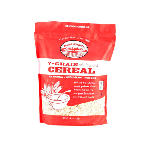 7-Grain Cereal With Flaxseed 8/1.6lb
