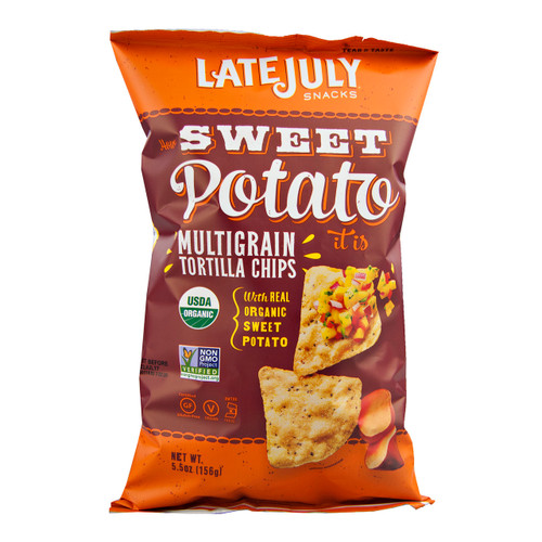 Organic How Sweet Potato It Is Tortilla Chips 12/5.5oz