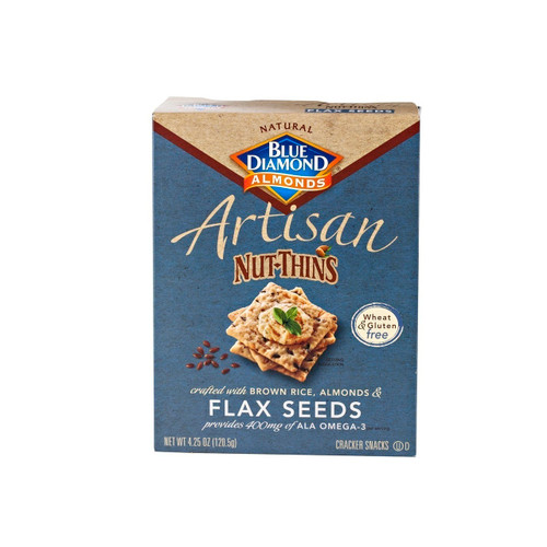 12/4.25Oz Nut-Thins Flax