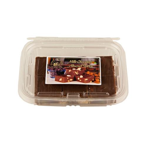 Milk Chocolate Almond Fudge 8/12oz