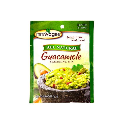 All Natural Guacamole Mix 12/0.8oz