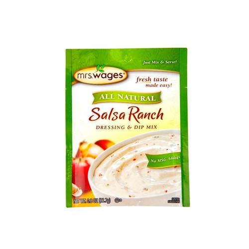 All Natural Salsa Ranch Dressing & Dip Mix 12/0.8oz