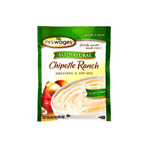All Natural Chipotle Ranch Dressing & Dip Mix 12/0.8oz