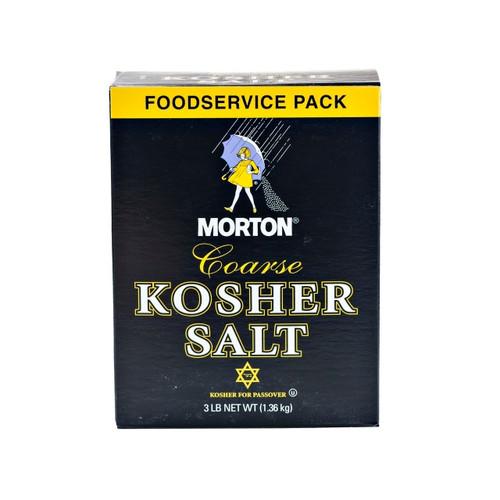 Coarse Kosher Salt 12/3lb