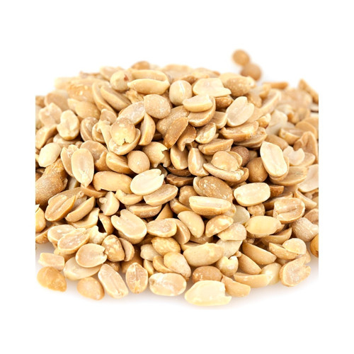 Dry Roasted Split Peanuts 25lb