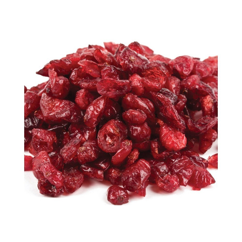 Raspberry Flavored Cranberry Pieces 25lb View Product Image