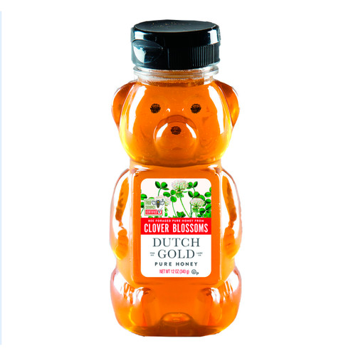 Clover Honey Bears 12/12oz