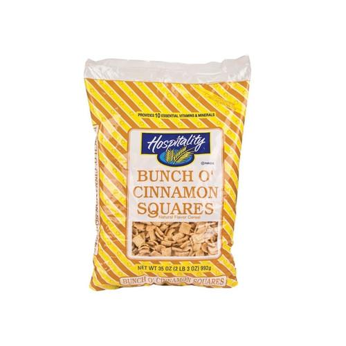 Bunch O' Cinnamon Squares 4/35oz