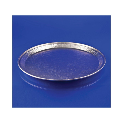 "12"" Flat Deli Tray (Aluminum) 25ct"