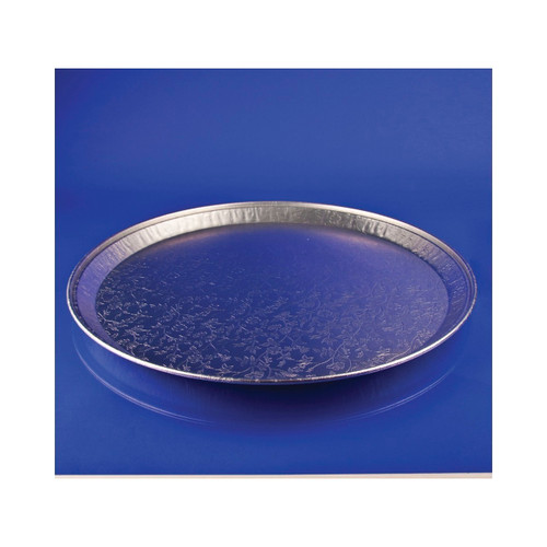 "16"" Flat Deli Tray (Aluminum) 25ct"