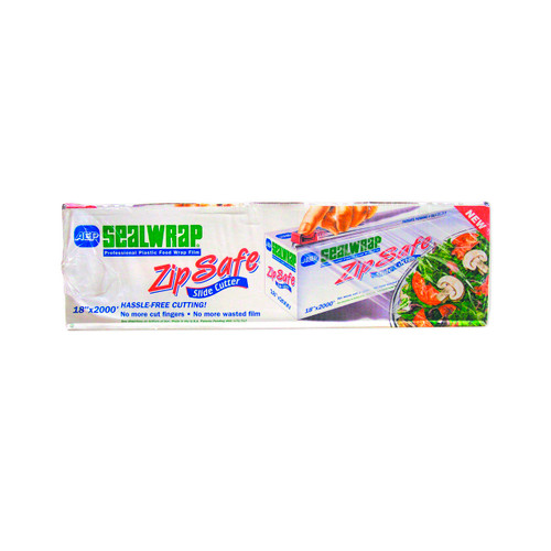 "ZipSafe Plastic Food Wrap 18""X2000'"