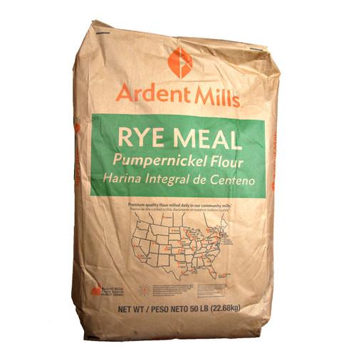 Medium Rye Meal Pumpernickel Flour 50lb