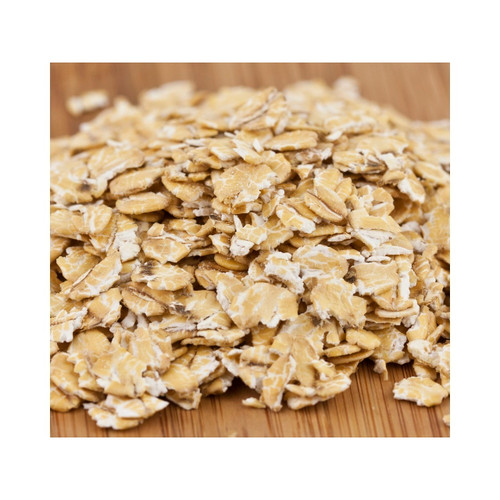50lb Wheat Flakes (Rolled)