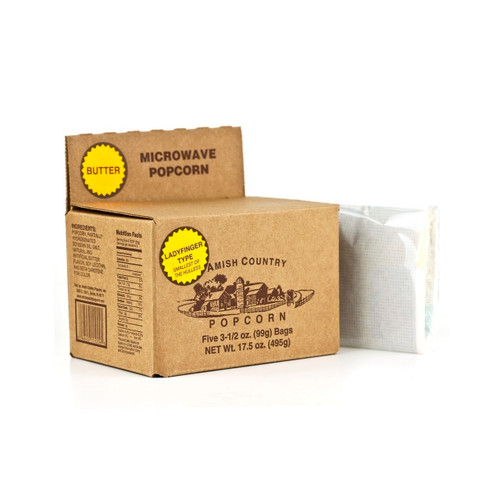 Butter Flavored Microwave Popcorn 6-5/3.5oz