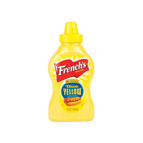 French's Yellow Mustard 12/12oz