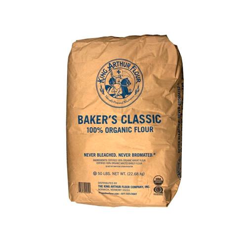 Organic Baker's Classic Flour 50lb