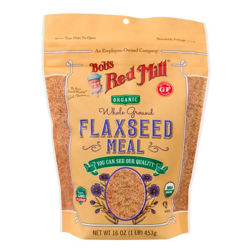 4/16oz Flaxseed Meal - Brown Organic & Gluten Free