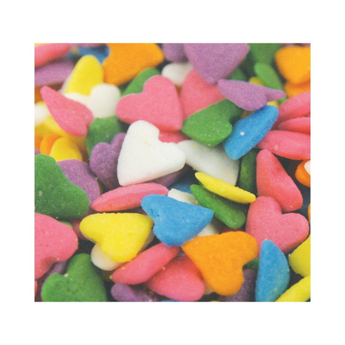 5lb Heart Shapes, Pastel