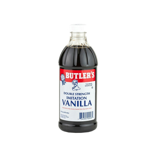 12/16oz Imitation Vanilla Dbl Strength, Dark
