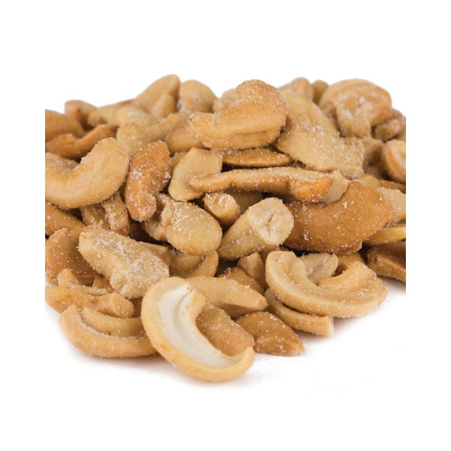 25lb Cashew Pieces Large (Roasted & Salted)