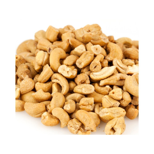 Large Roasted No Salt Cashew Pieces 25lb