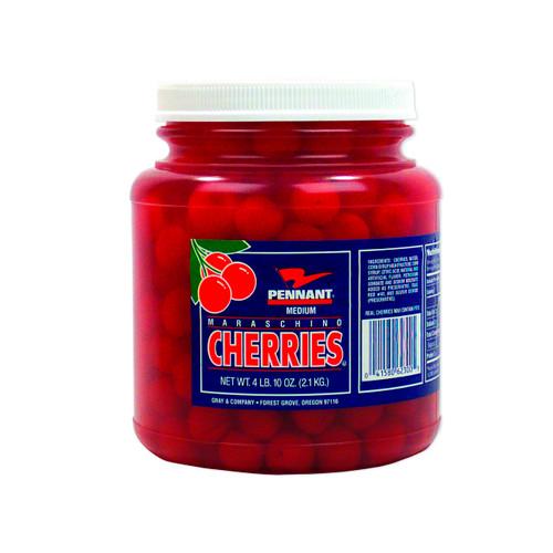 6-1/2gal Maraschino Cherries, Whole (No Stems)