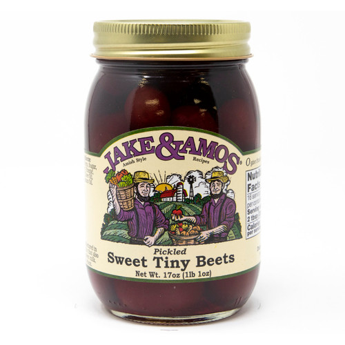 J&A Pickled Sweet Tiny Beets 12/17oz