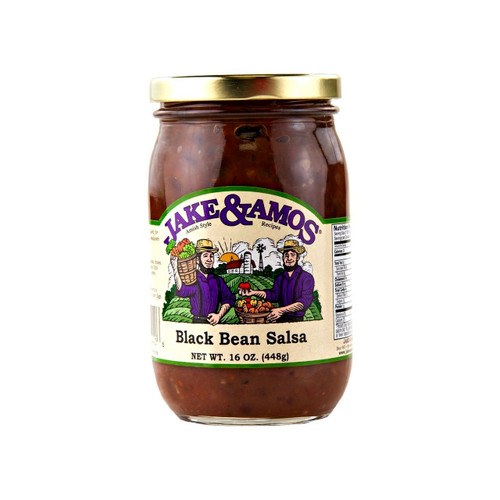 J&A Black Bean Salsa 12/15oz