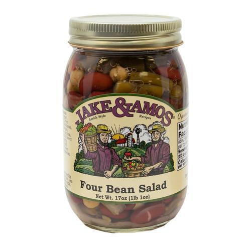 J&A Four Bean Salad 12/17oz