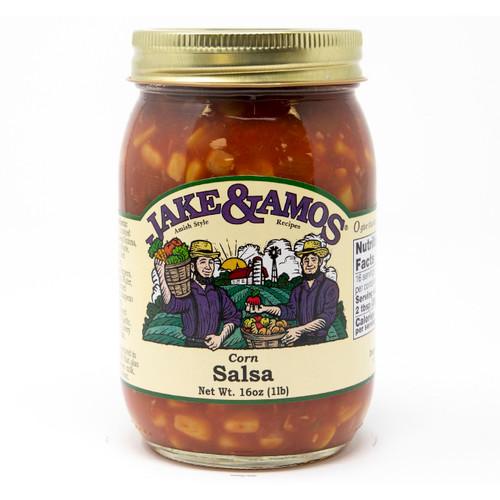 J&A Corn Salsa 12/16oz