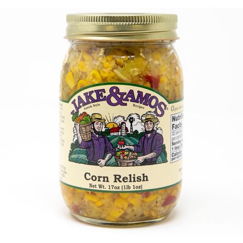 J&A Corn Relish 12/17oz