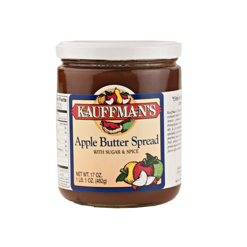 Apple Butter Spread (With Sugar & Spice) 12/17oz