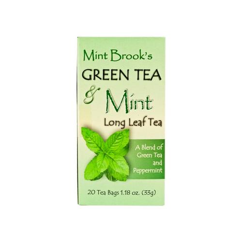 Green Tea & Mint 6/20ct