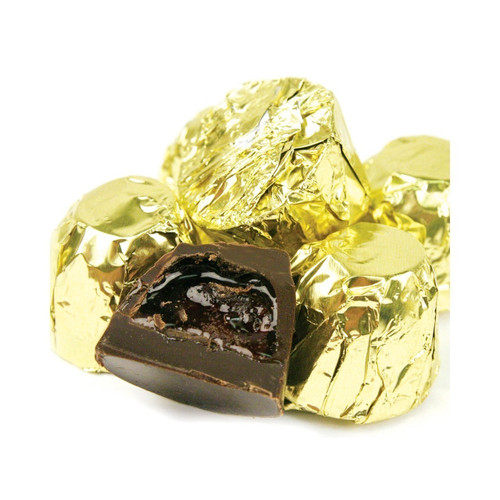 Dark Chocolate Cordial Cherries, with Foil 6lb