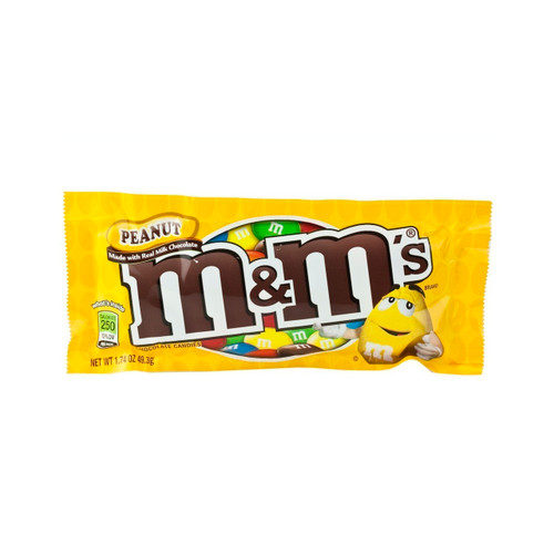 Peanut M&M's Chocolate Candies 48ct View Product Image