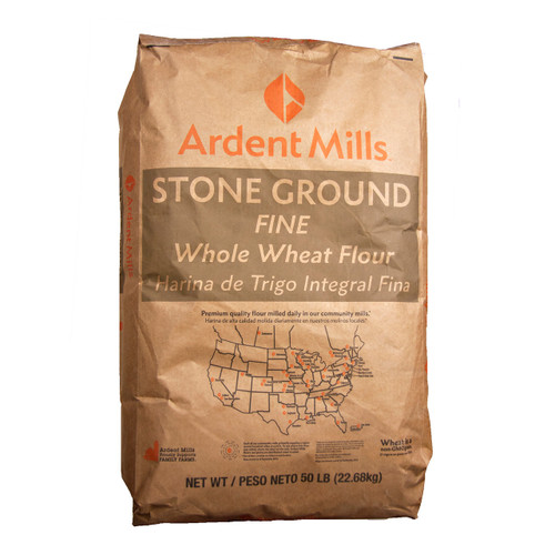 50lb Whole Wheat Fine St. Grd.