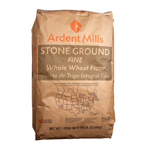 Fine Stone Ground Whole Wheat Flour 50lb View Product Image
