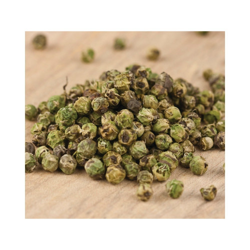 Whole Green Peppercorns 1lb