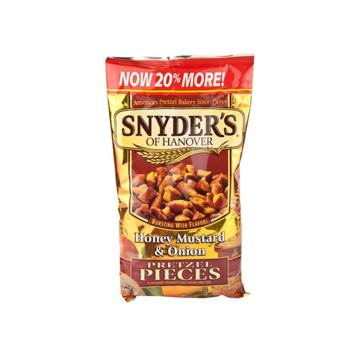 Honey Mustard & Onion Pretzel Pieces 12/12oz
