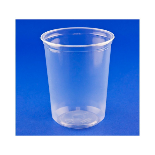 500ct Deli Container (Plastic) 32oz Clear # PK32T-C