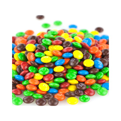 M&M Milk Chocolate Baking Bits 25lb View Product Image