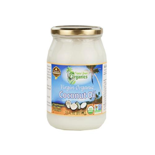 6/31oz Org Coconut Oil, Virg