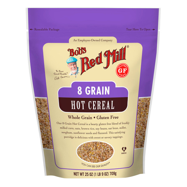 Gluten Free 8 Grain Hot Cereal 4/25oz