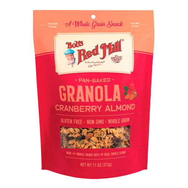 Cranberry Almond Pan-Baked Granola 6/11oz